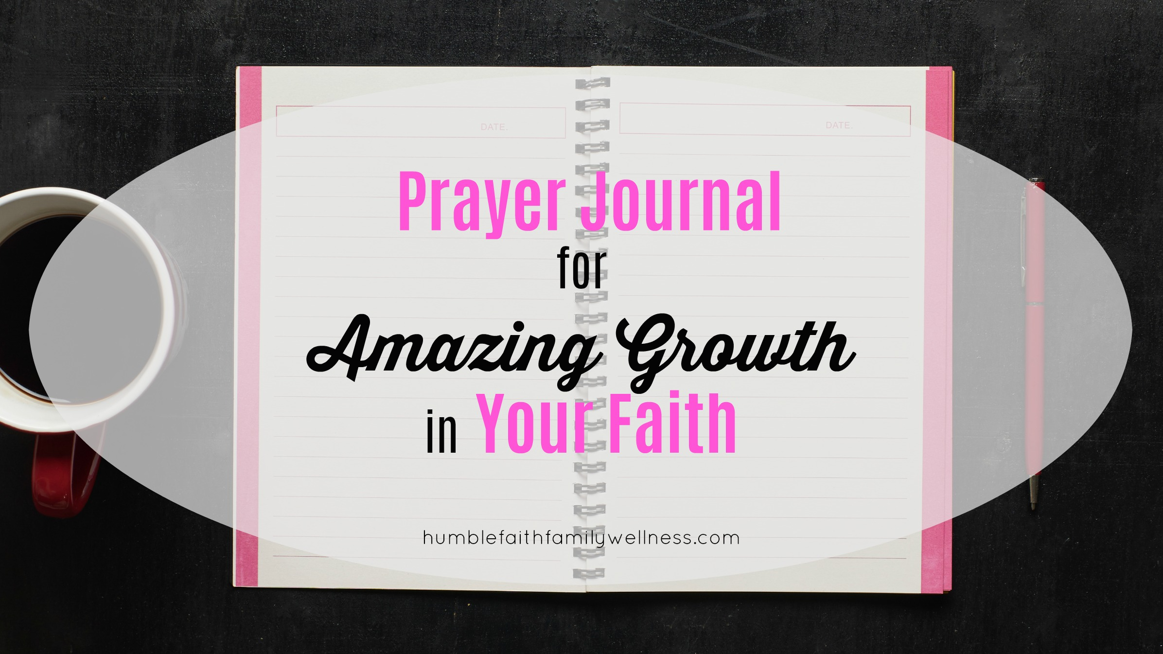 prayer journal, faith