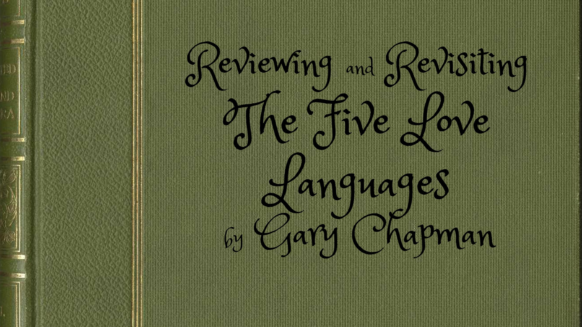 Five Love Languages, Book Review, Favorite Books