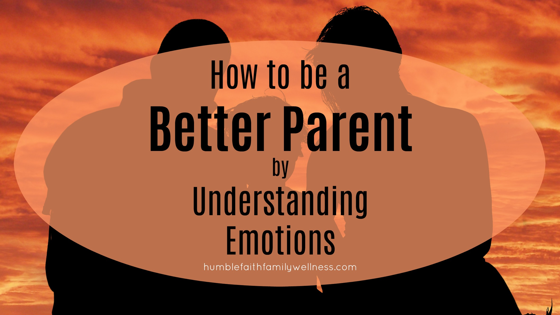 Understanding emotions, parenting