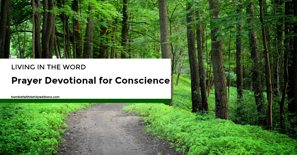 Conscience, Prayer Devotional, Faith