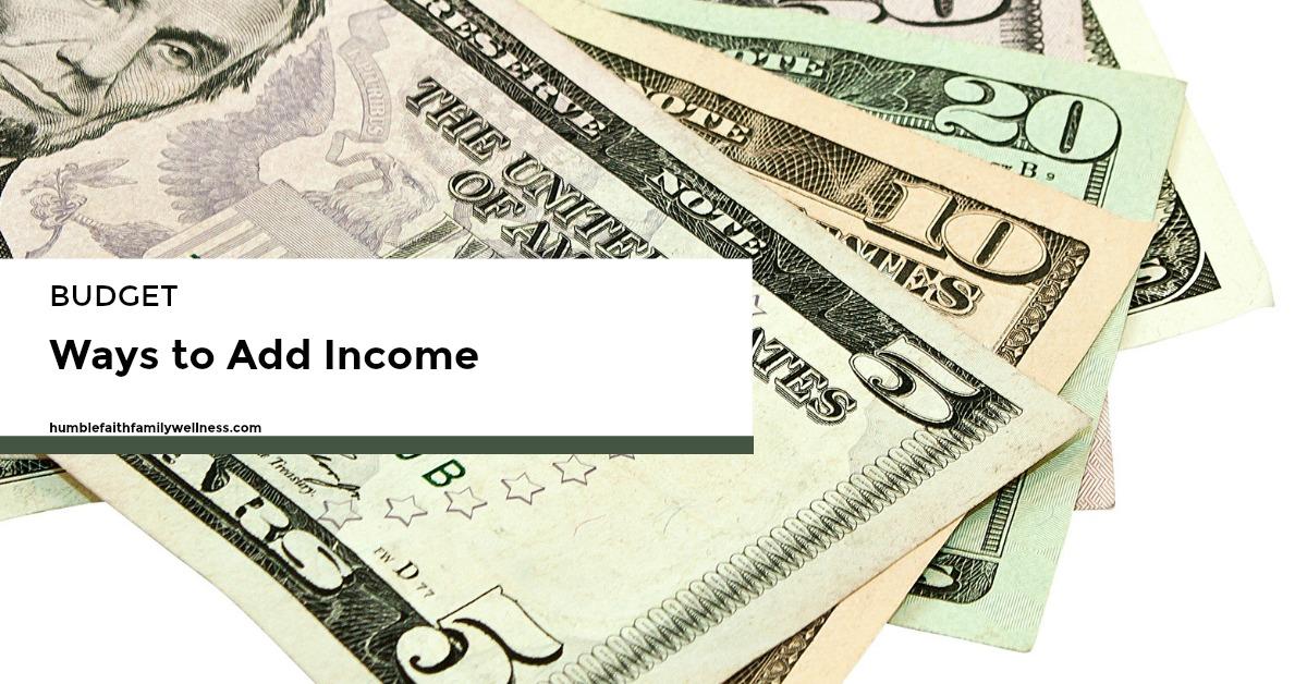 Income, finances, budget, money, Christian money